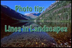 Lines-in-Landscapes