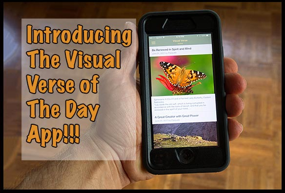 The Visual Bible Verse of the Day App