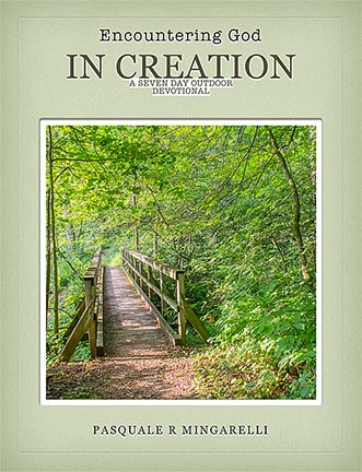 The for cover a creation devotional called Encounter God in Creation.