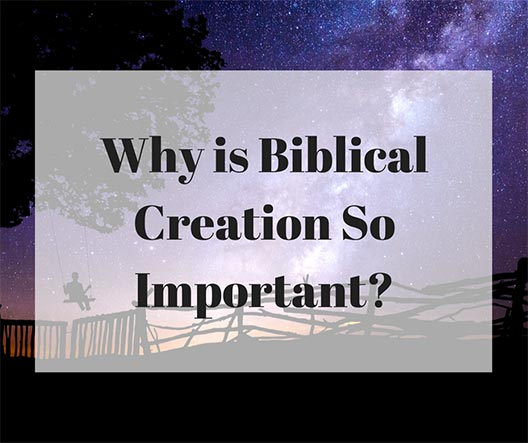 The importance of biblical creation