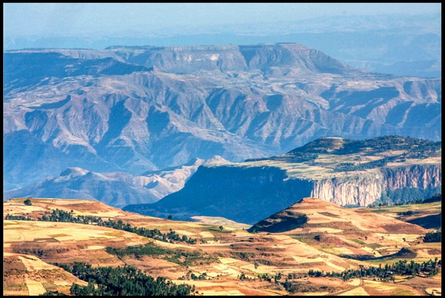 The Mountains of South Gondar, Ethiopia with Bible verse Psalm 90:2 before the mountains Guest Post