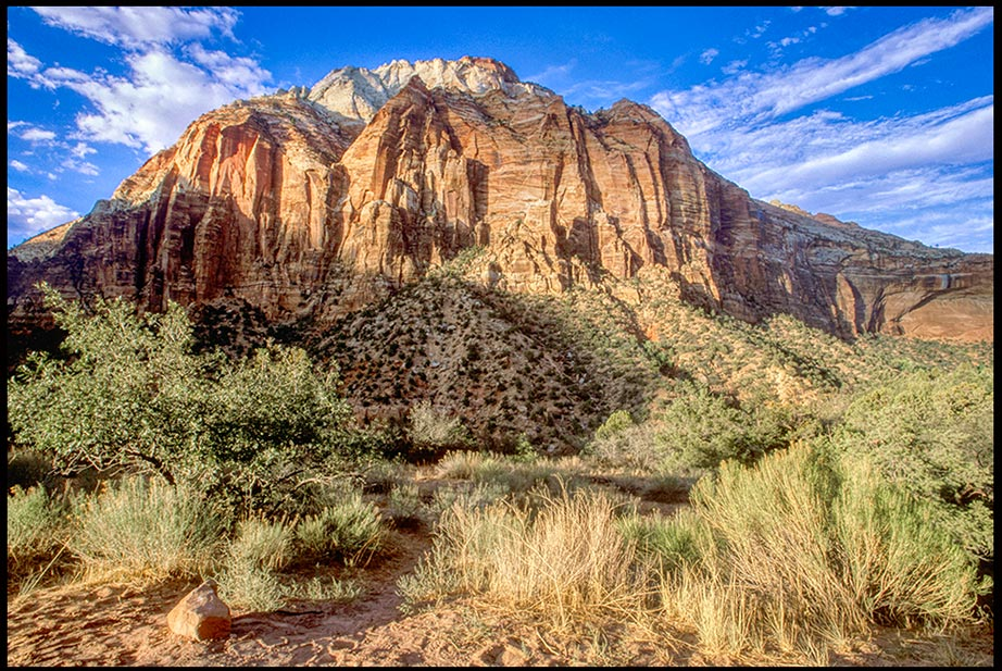 "The ancient East Temple Rock in the dry desert of Zion National Park"" Bible Verse of the Day Attributes of God Series: Psalm 102 Immutable God"